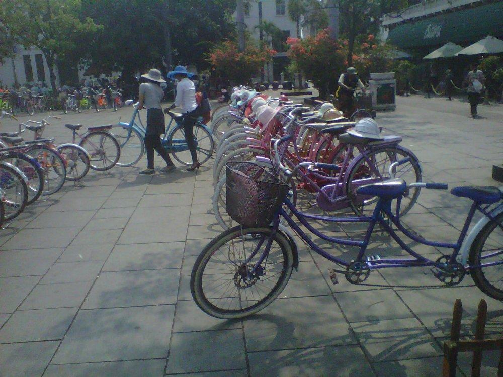 Sepeda Taman Fatahillah