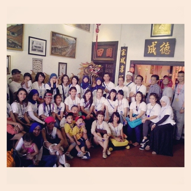 Foto session di Museum Benteng AHP Tangerang Tour