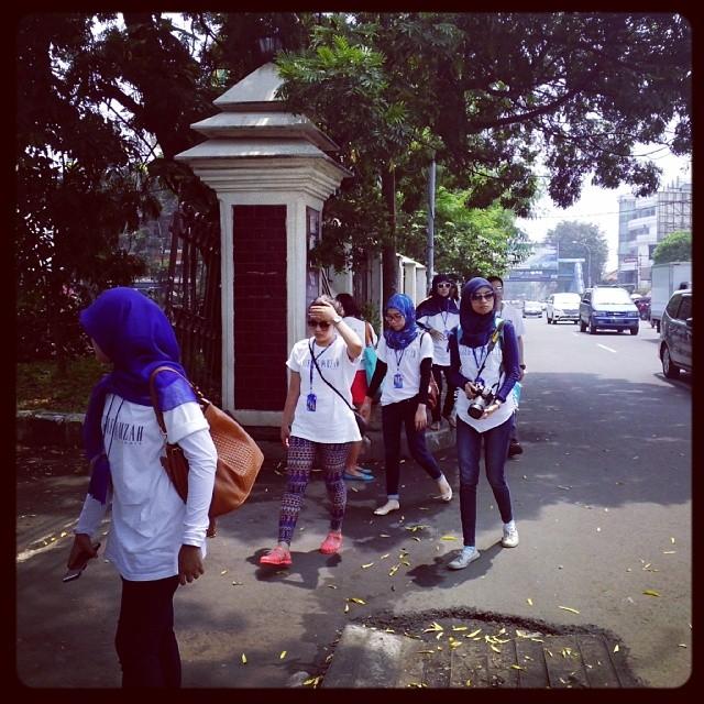 jalan ke pasar lama AHP Tangerang Tour