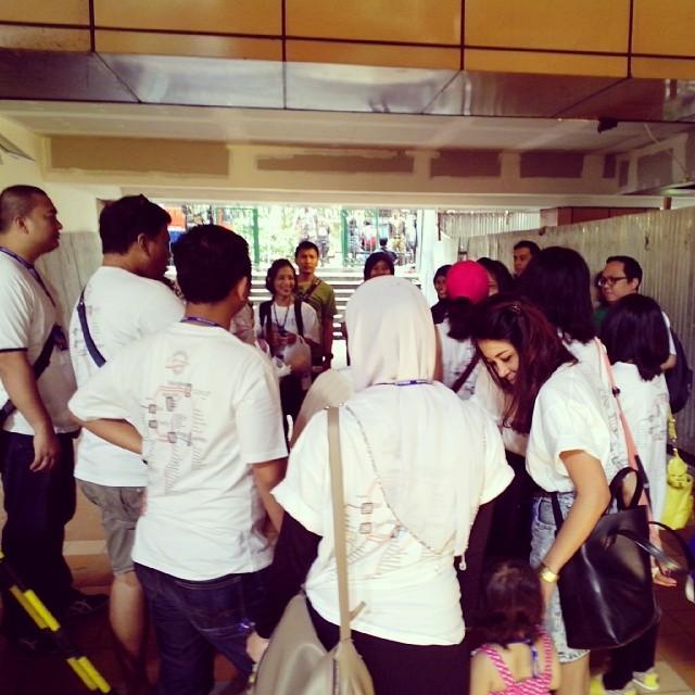 kumpul di cikini AHP Tangerang Tour