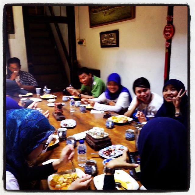 makan siang AHP Tangerang Tour
