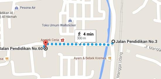 Monumen Tugu Lonceng Map