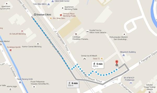 Roemah Koeliner Map