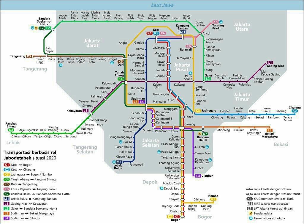 Mengulik Rencana Perkeretaapian Jabodetabek Jakarta By Train